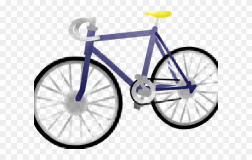 Means of transparent bike. Clipart bicycle transportation