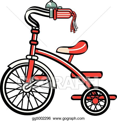 Biking clipart tricycle. Vector stock bike bicycle