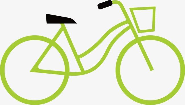 Bicycle clipart vector. Minimalist fashion creative bike