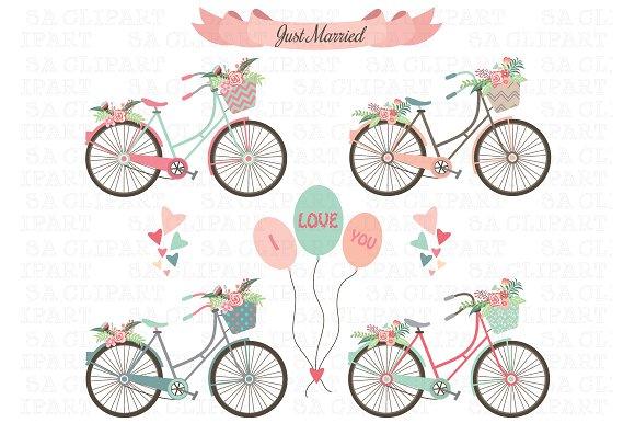 Bicycle clipart wedding. Bike creative daddy