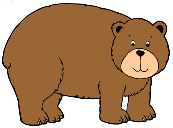 Bears clipart grizzly bear.  big clipartlook