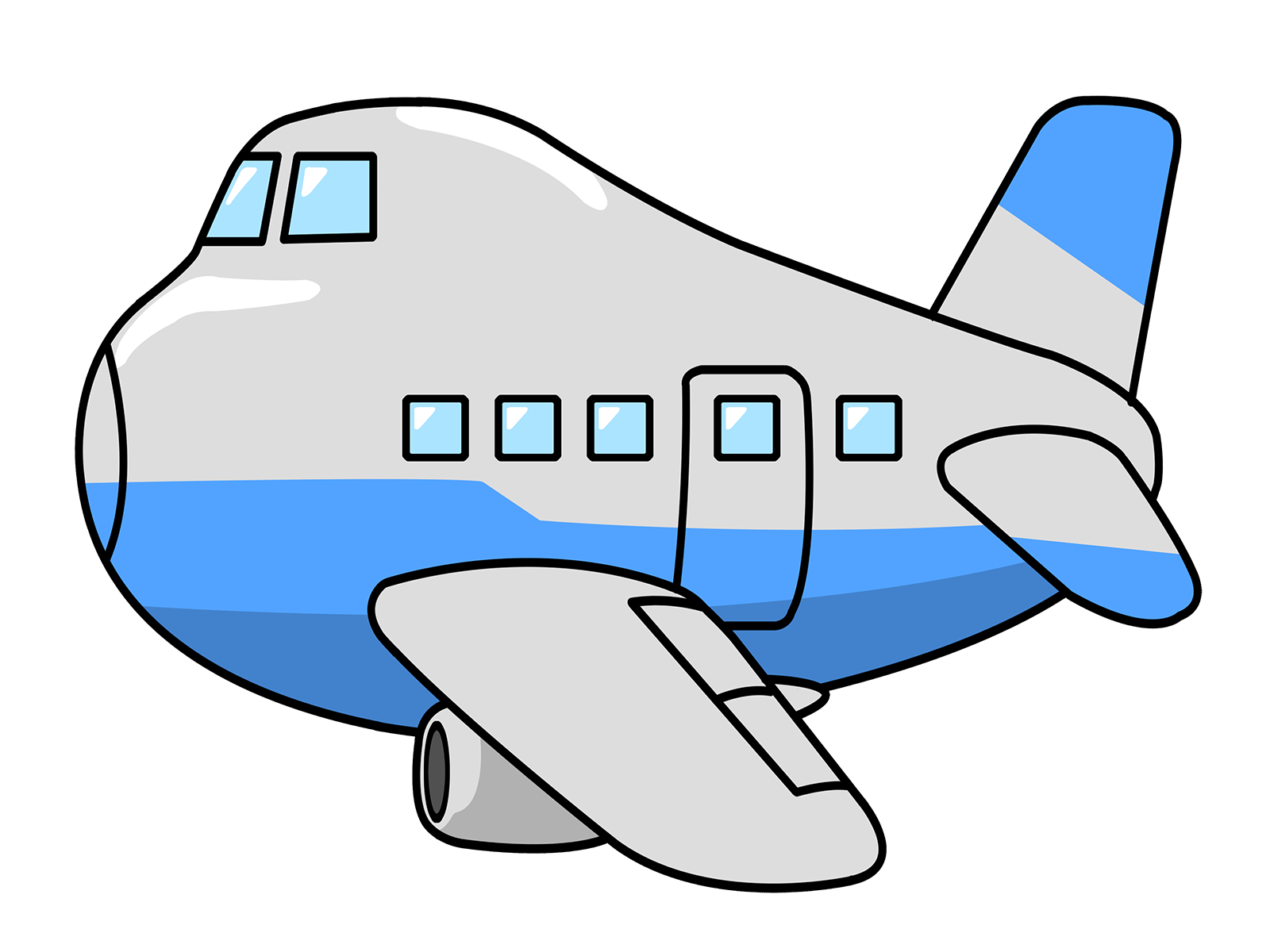 Use this clip art. Clipart boat airplane