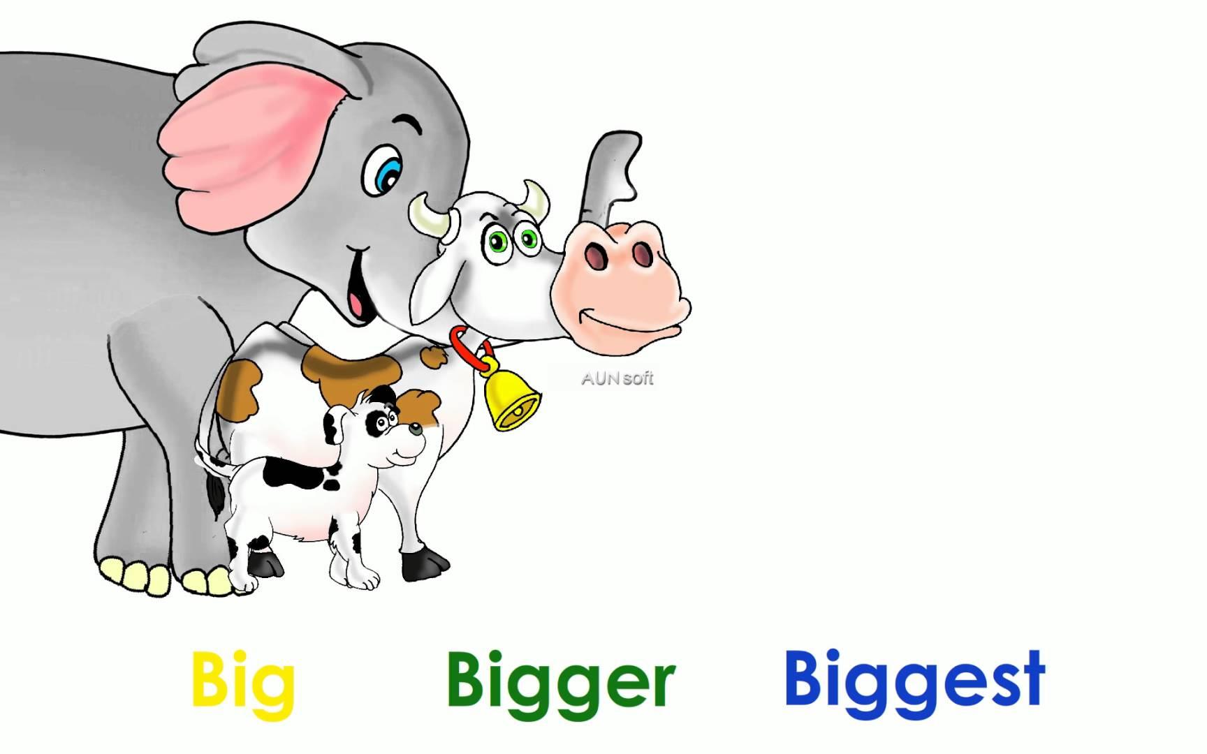 Biggest animation by best. Big clipart big bigger big