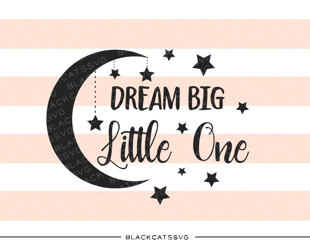 Dream one svg file. Big clipart big little