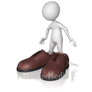 Shoes to fill anim. Big clipart big shoe
