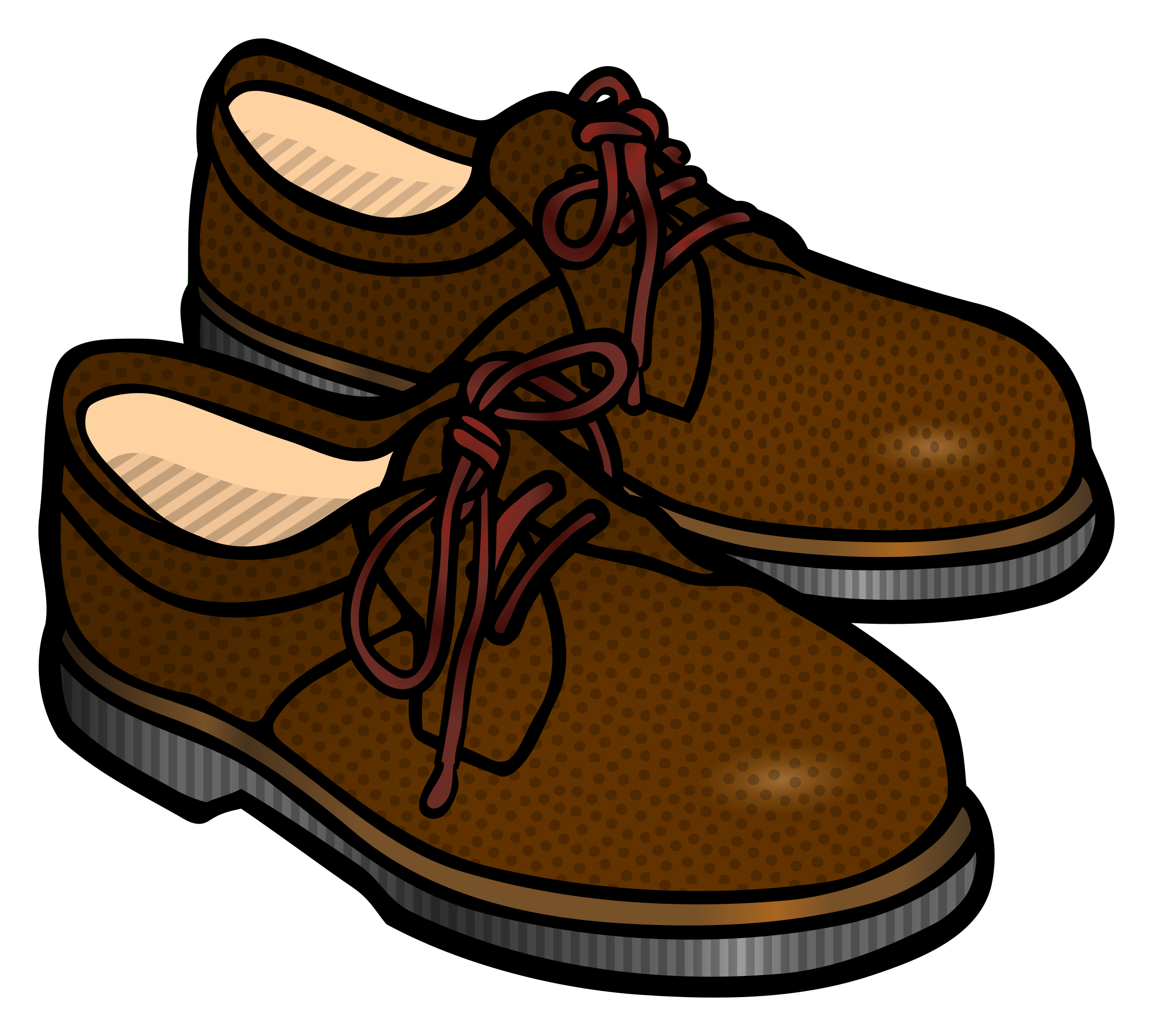 Shoes coloured image png. Big clipart big shoe