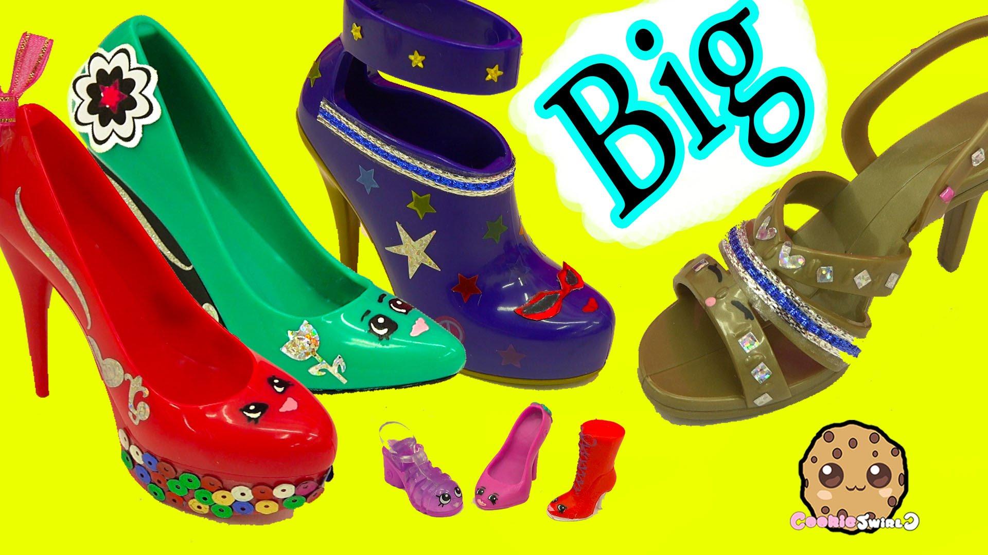 Big clipart big shoe. Painting designing large shopkins