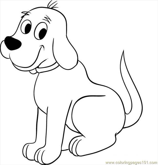 Clipart dog black and white. Big clip art search