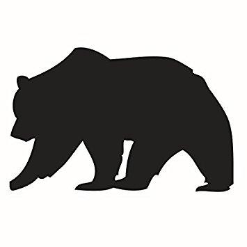 Silhouette at getdrawings com. Big clipart brown bear