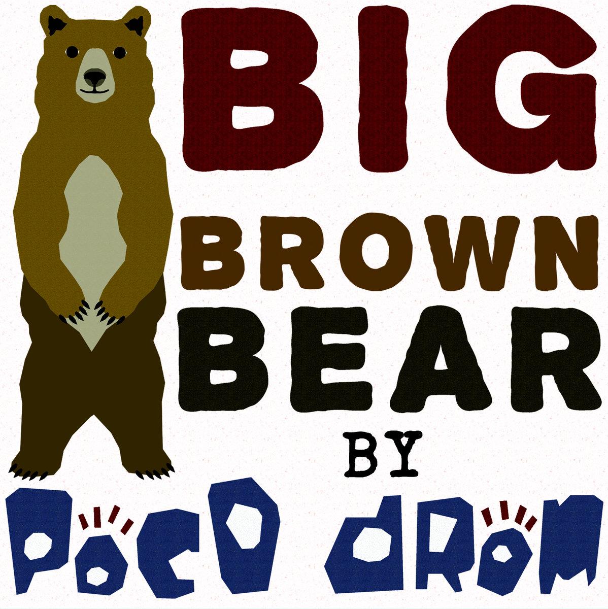 Big clipart brown bear. Poco drom