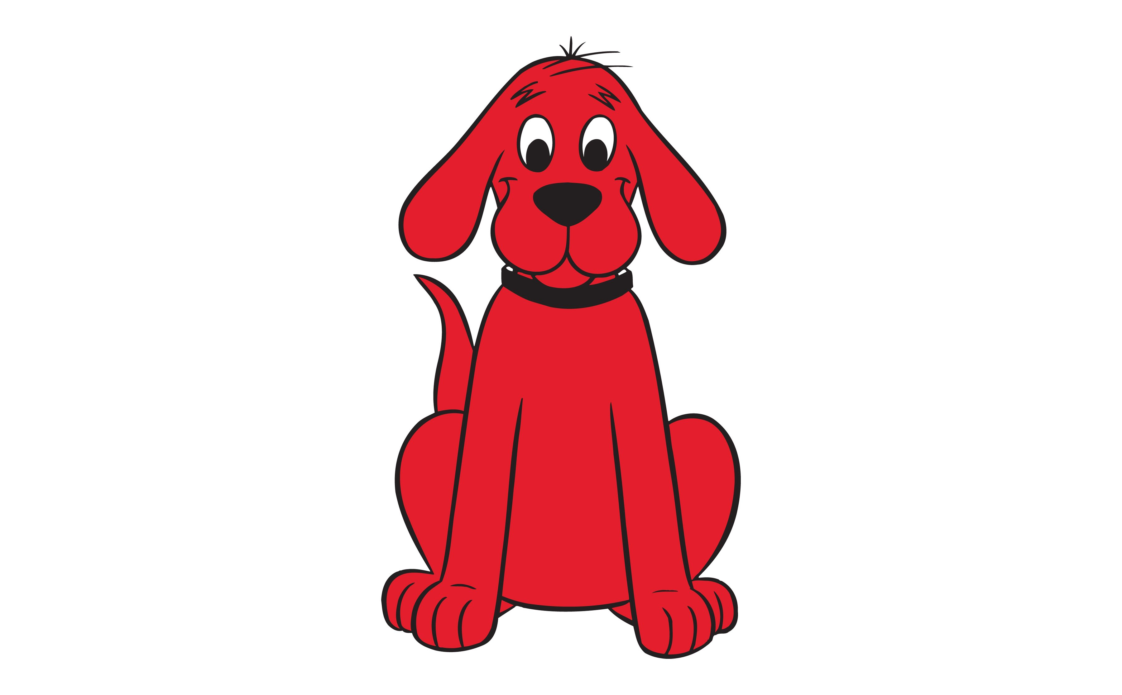 Clipart dogs red. Clifford big dog free