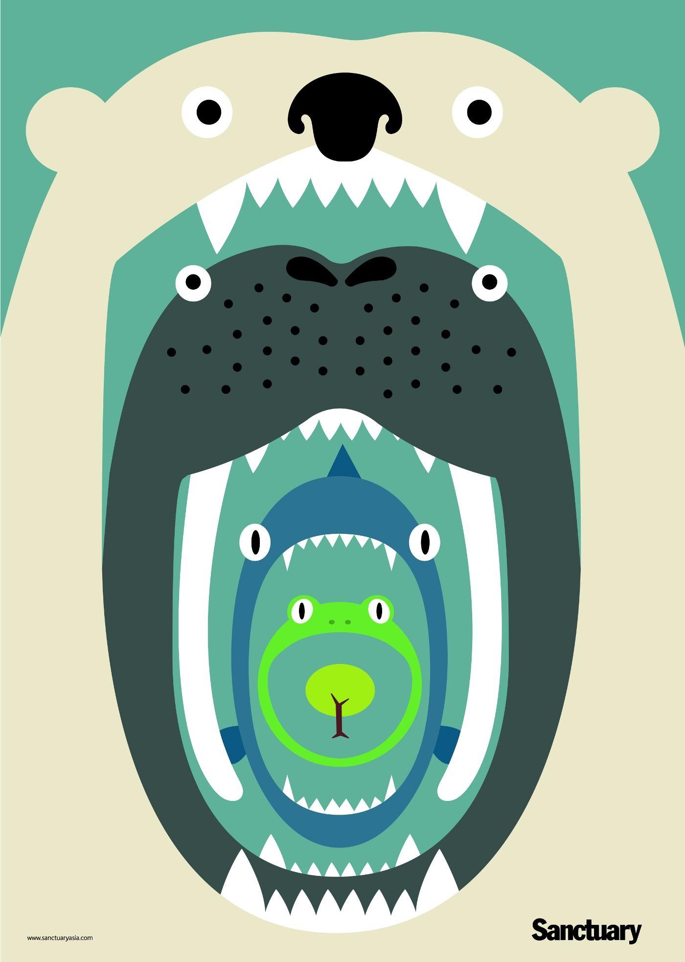 big clipart food chain