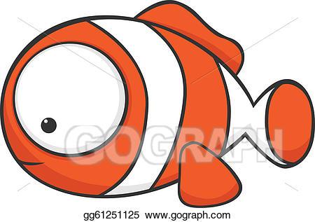 Big clipart huge. Vector stock eyed clownfish
