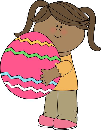 Easter kids clip art. Big clipart kid