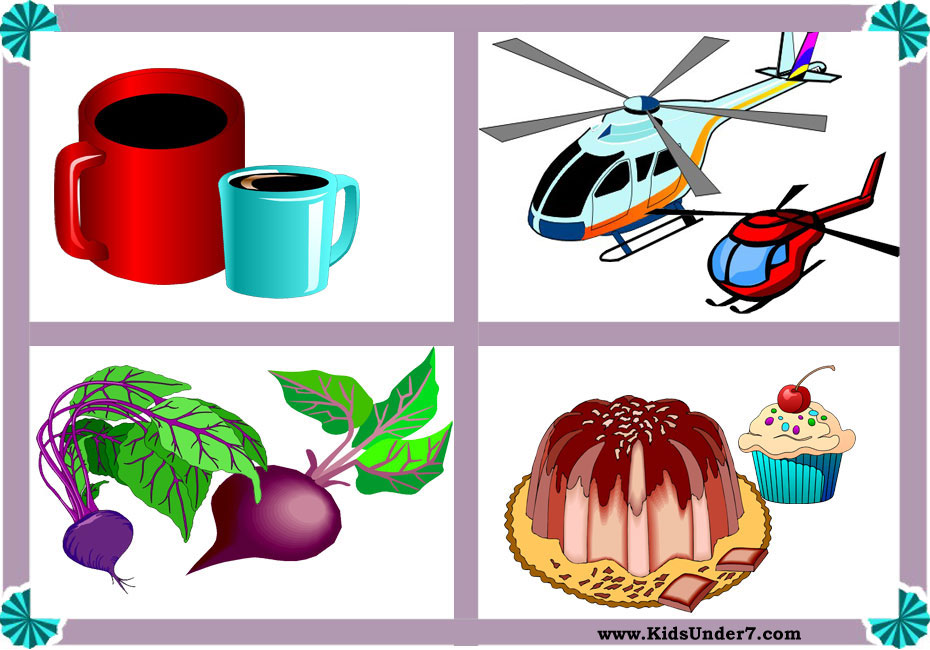 Kids under and worksheets. Big clipart large small