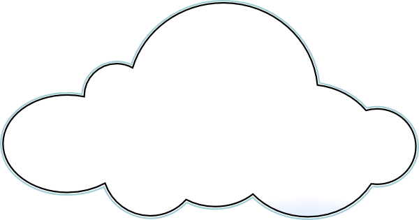 Big clipart large small. Clouds clip art at