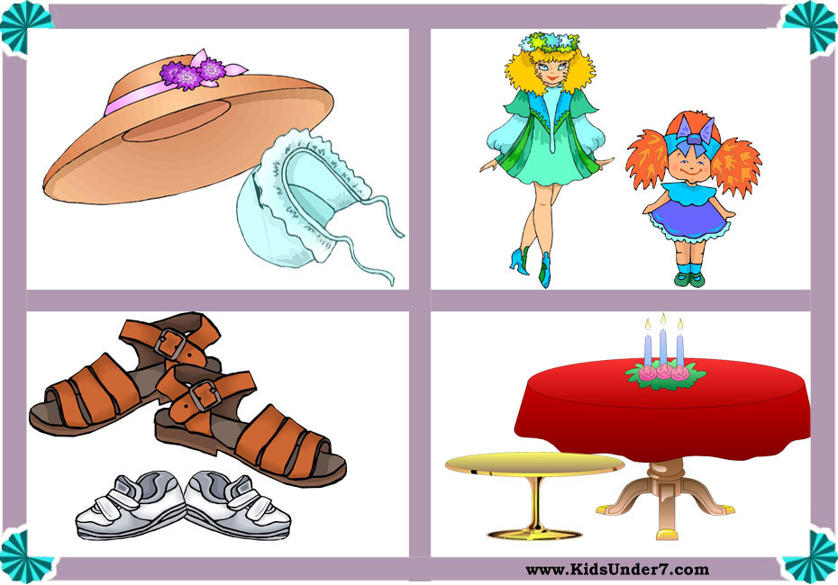 Big clipart large small. Kids under and worksheets