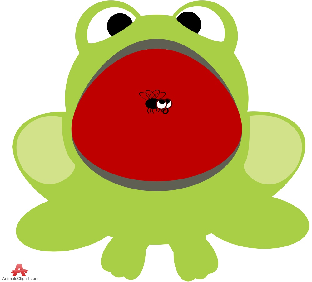 Frog clipart open mouth. Big clip art library