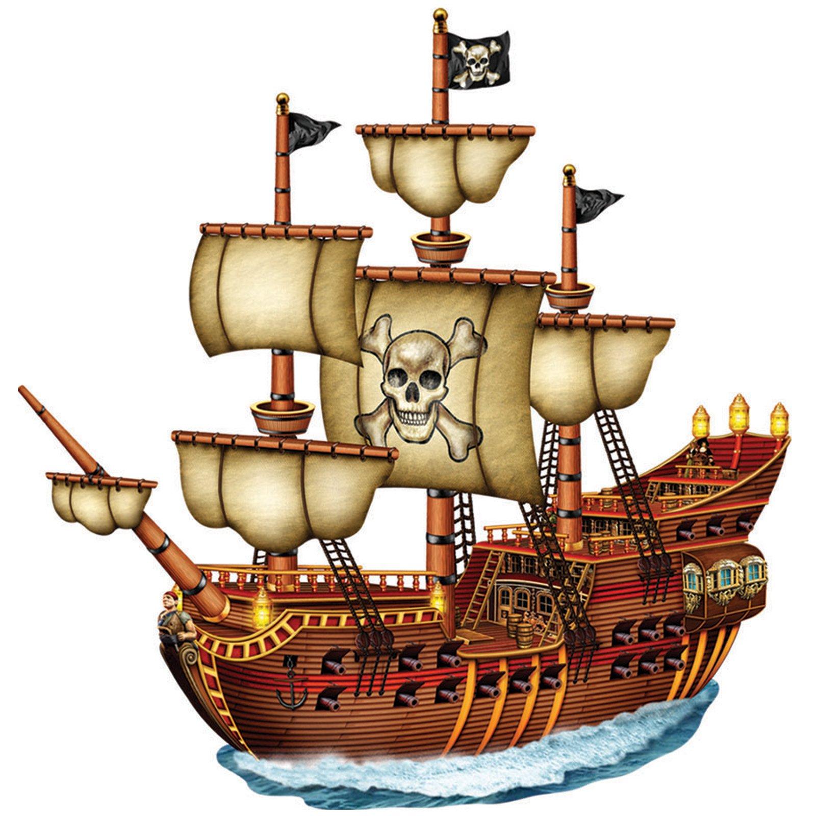 big clipart pirate ship