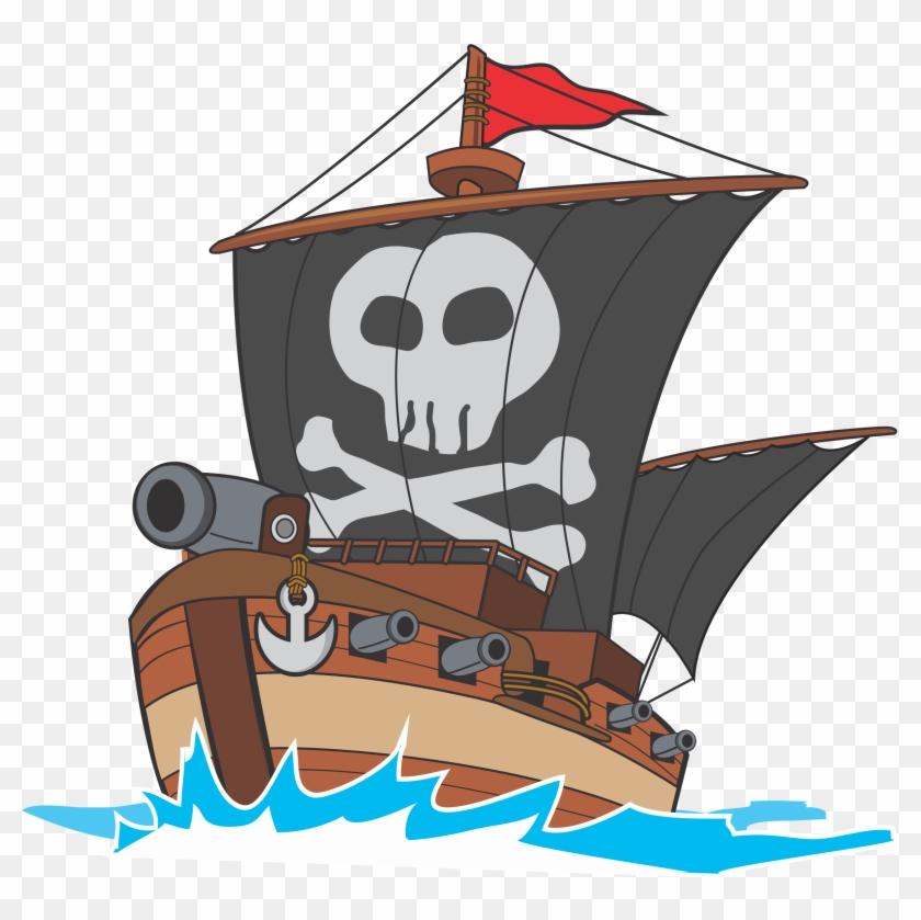 Image drawing png transparent. Big clipart pirate ship