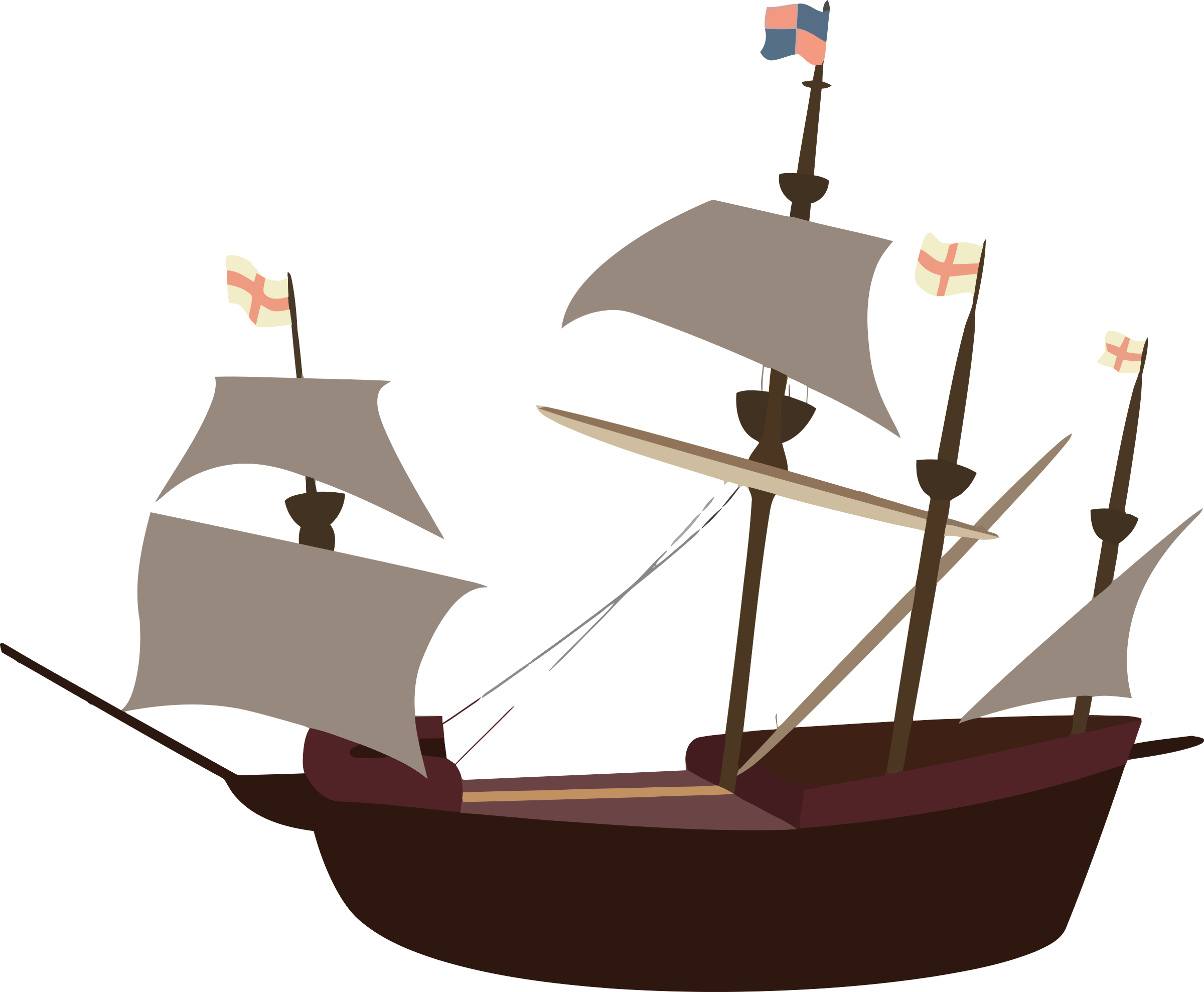 Image png. Big clipart pirate ship
