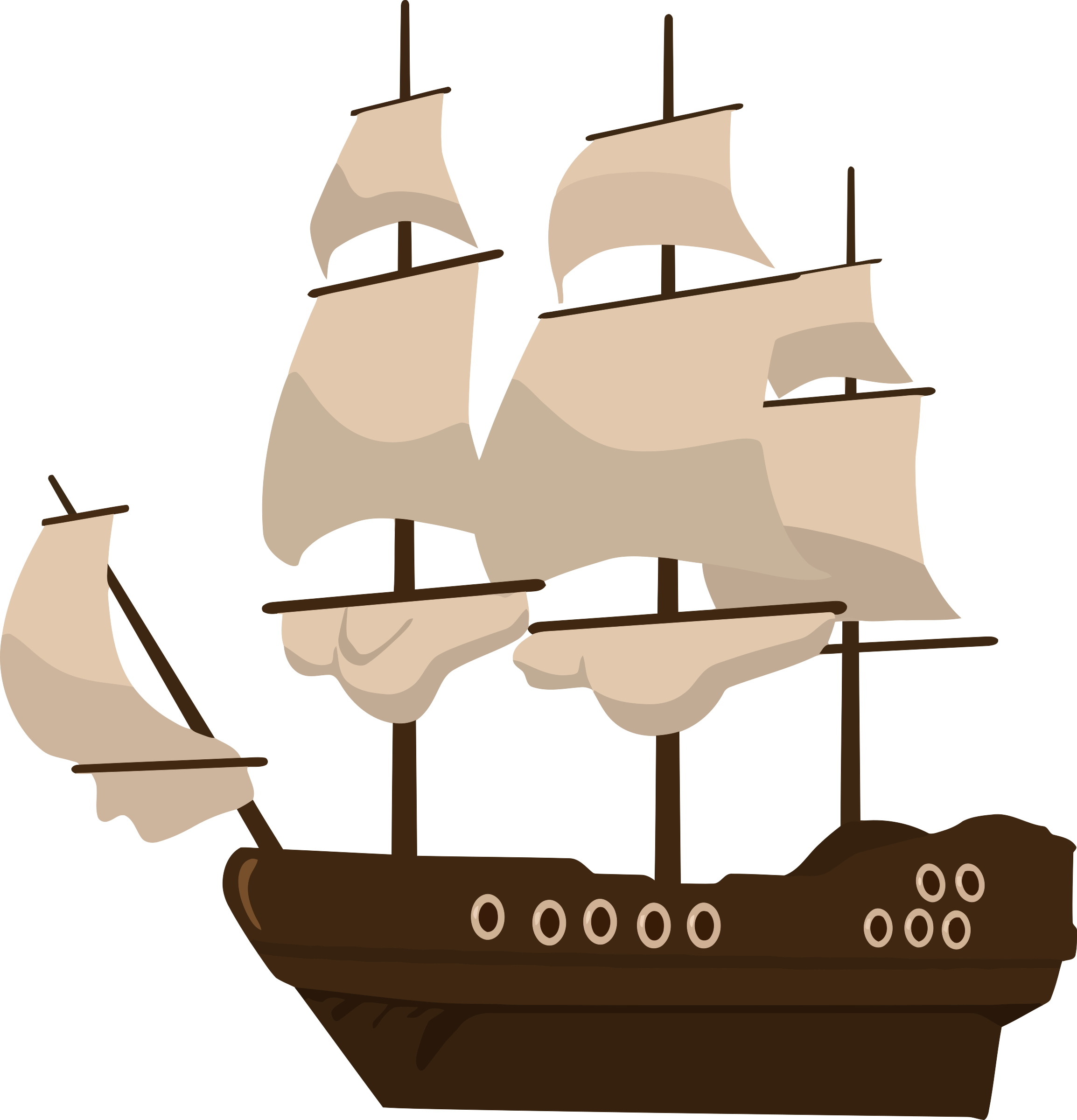 Pirate big image png. Navy clipart navy ship