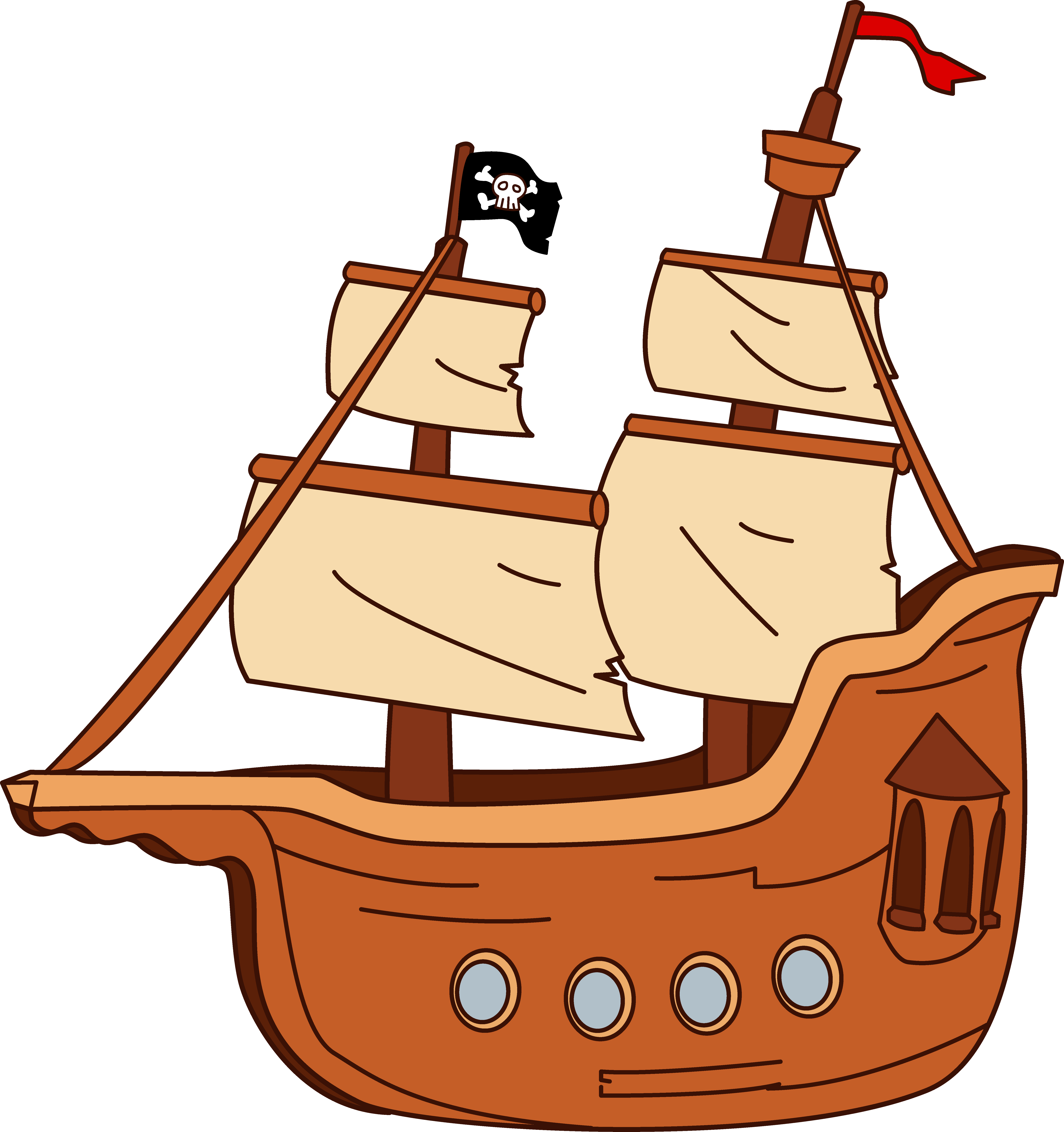 Boats clipart cartoon. Boat recherche google pinterest