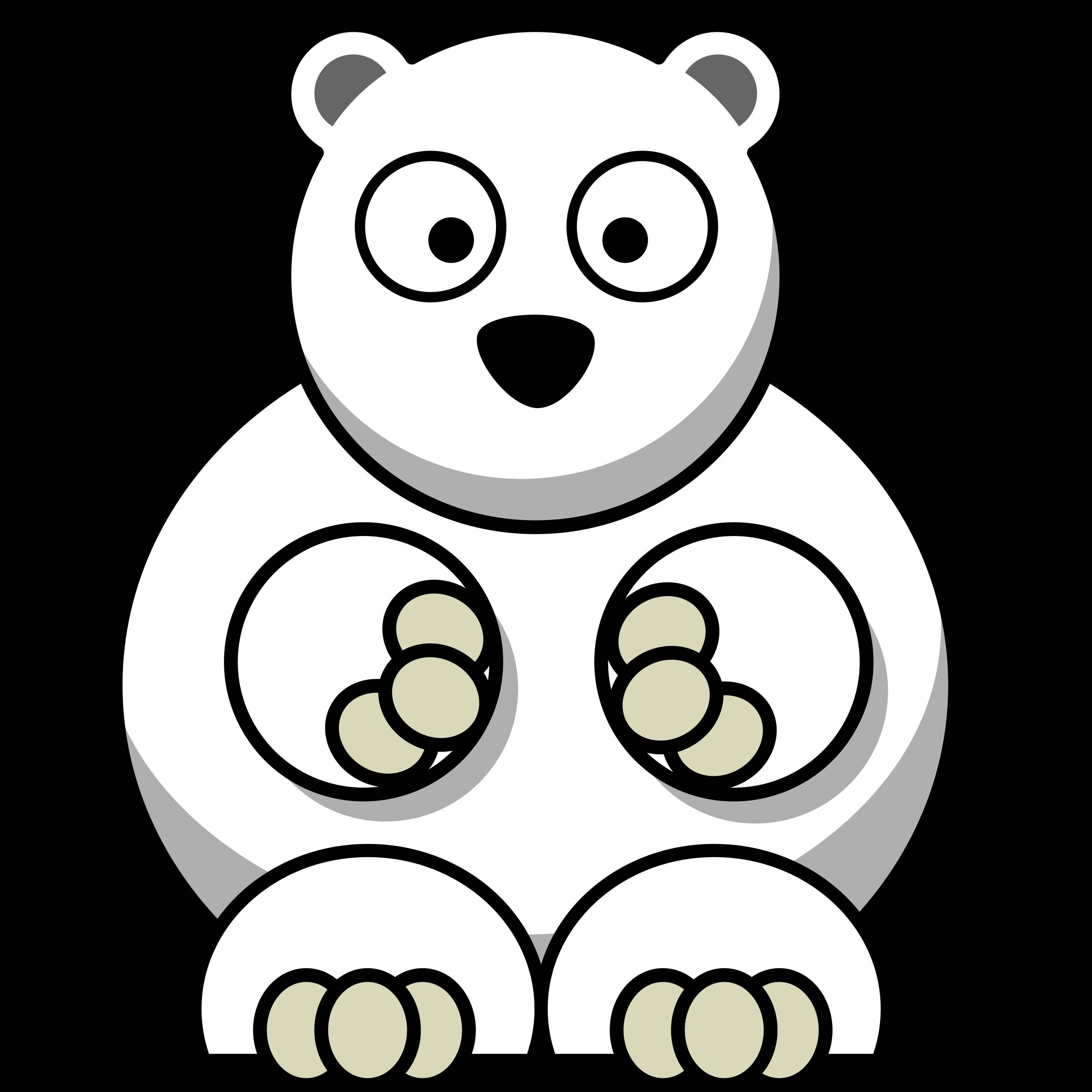 Remix image png. Big clipart polar bear