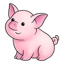 Http sweetclipart com cute. Pig clipart fetal pig