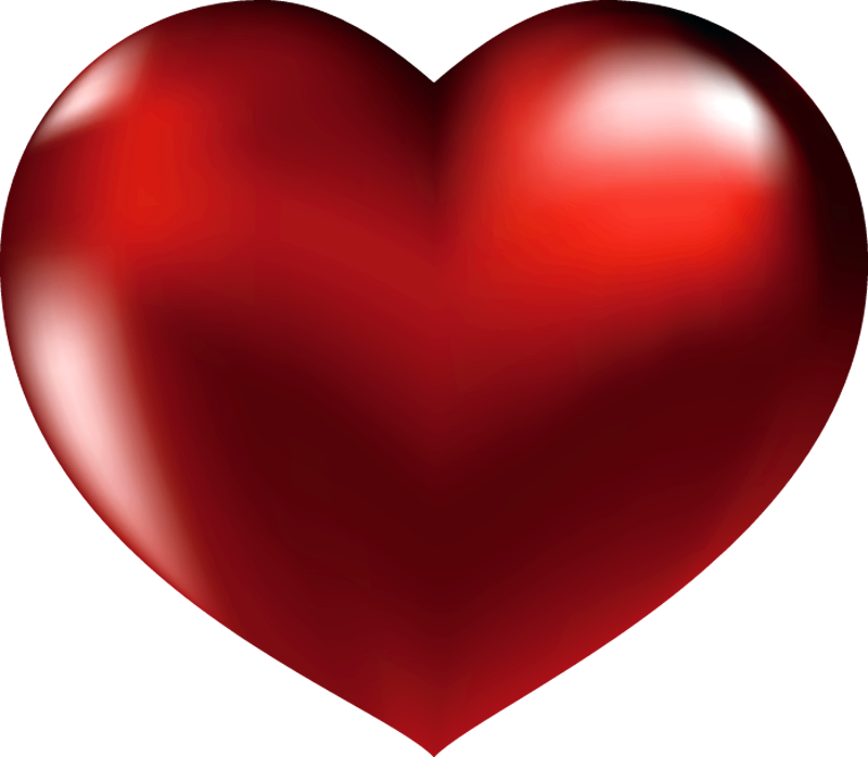Hearts clipart cartoon. Large red heart gallery