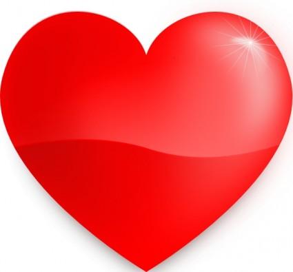 Free download clip art. Big clipart red heart
