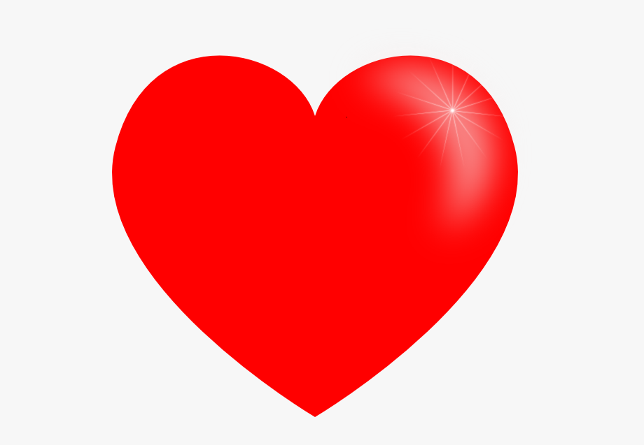 Small and free . Big clipart red heart