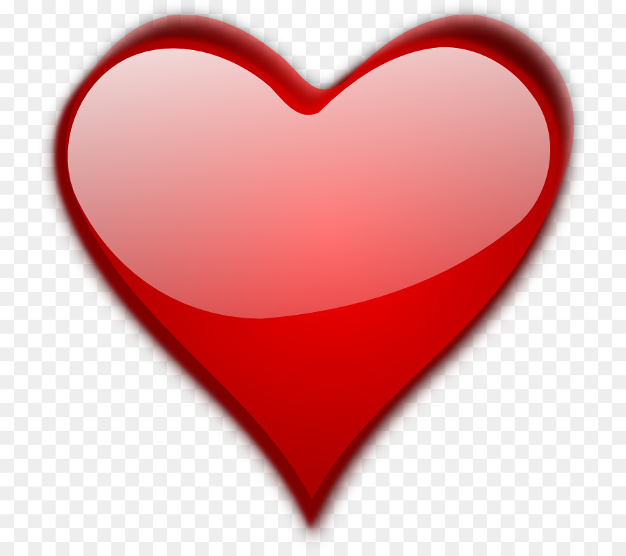 Big clipart red heart. Valentine s day gift