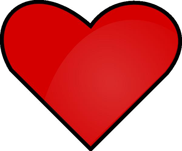 Clip art vector online. Big clipart red heart