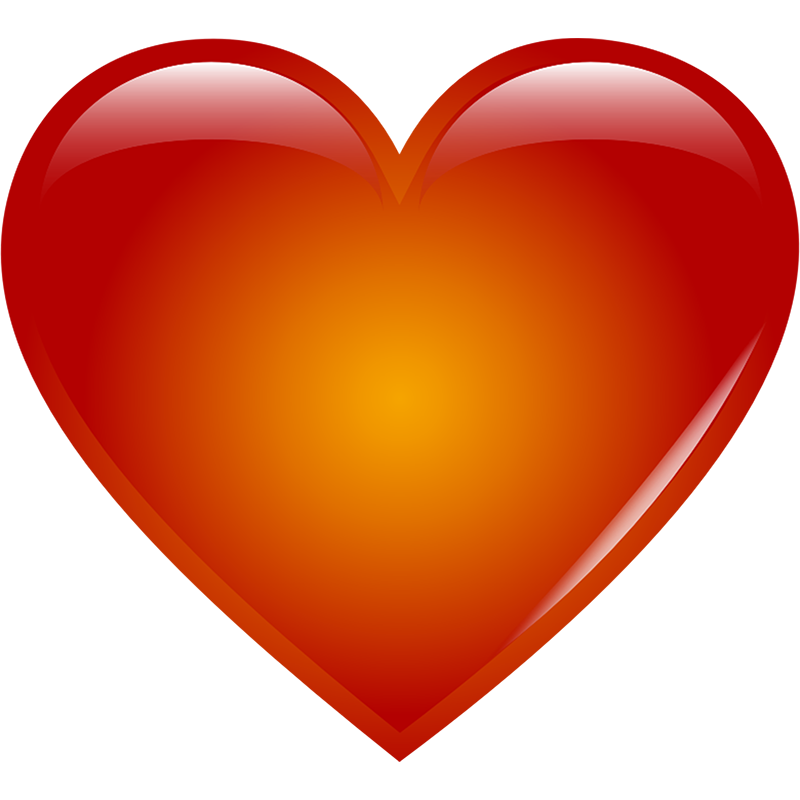big clipart red heart