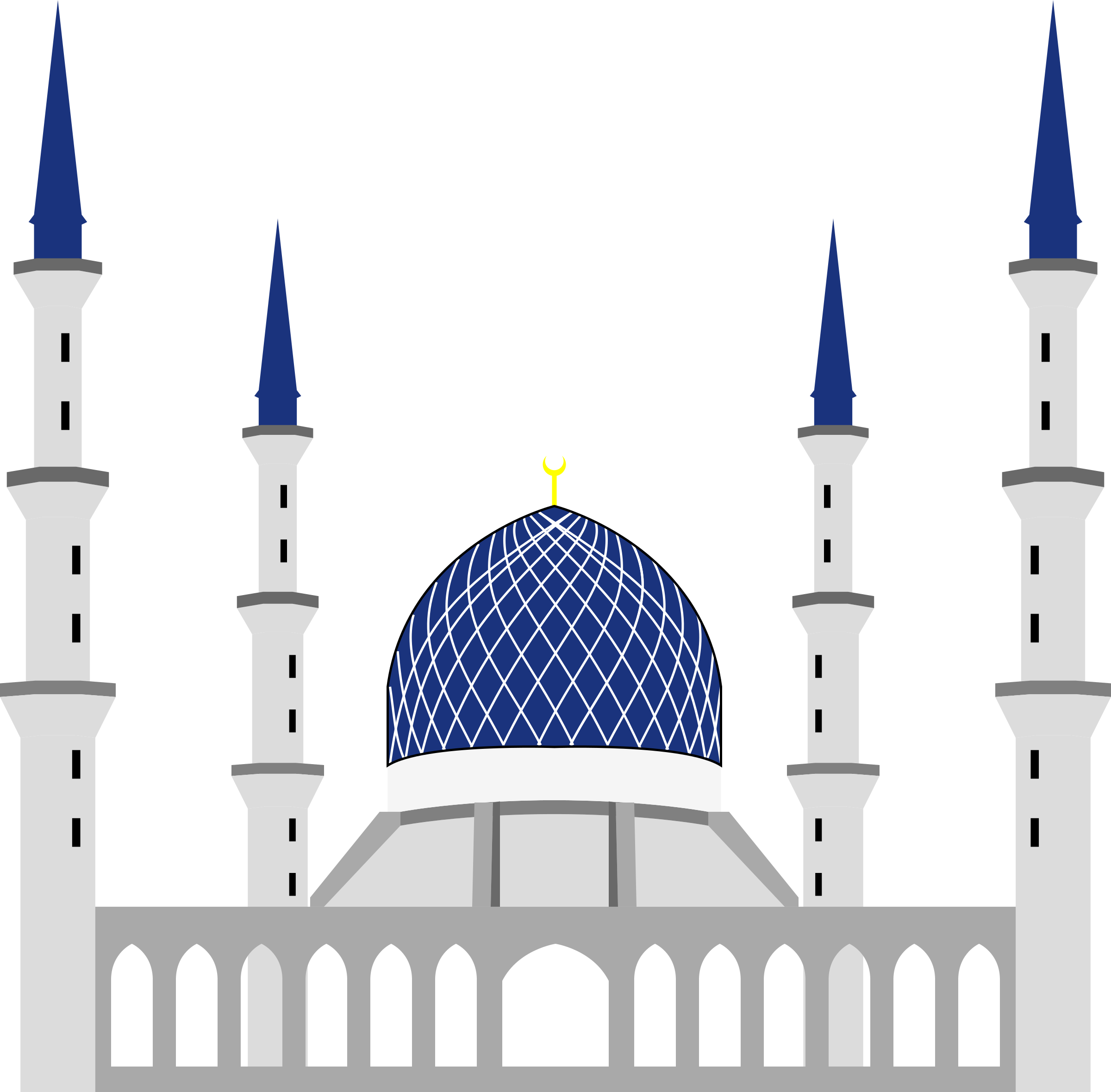 Sultan salahuddin abdul aziz. Greek clipart simple building