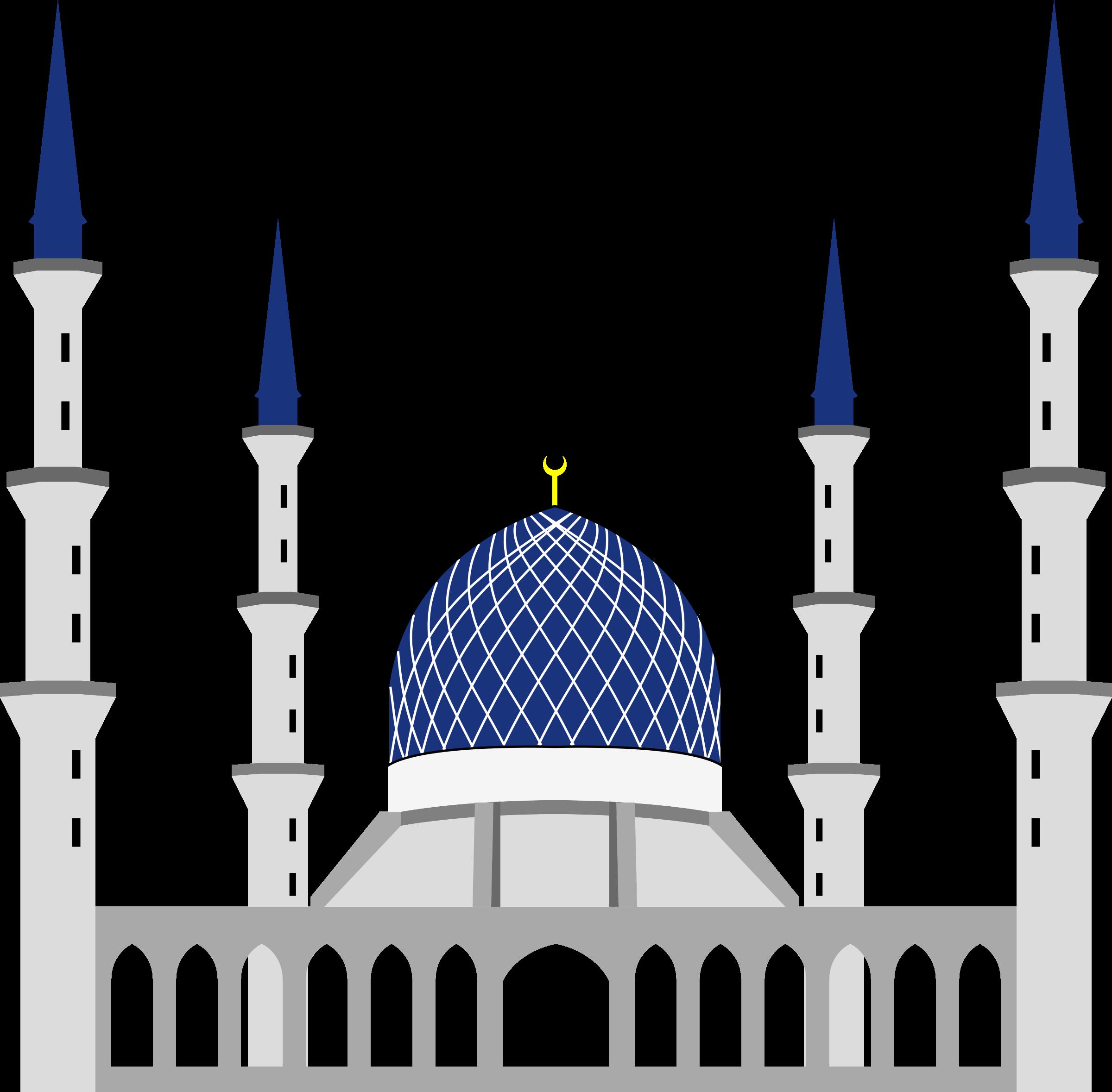 Sultan salahuddin abdul aziz. City clipart simple