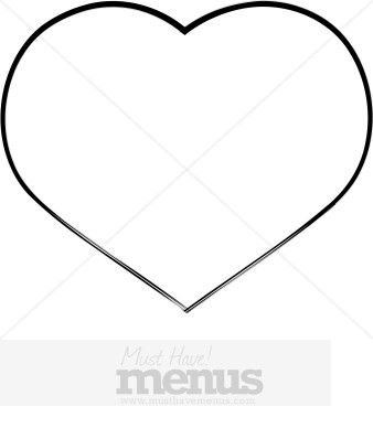 Big clipart simple. Heart holiday archive