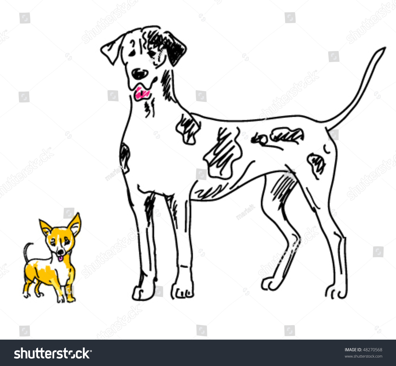 Pet clipart small pet. Dog drawing at getdrawings