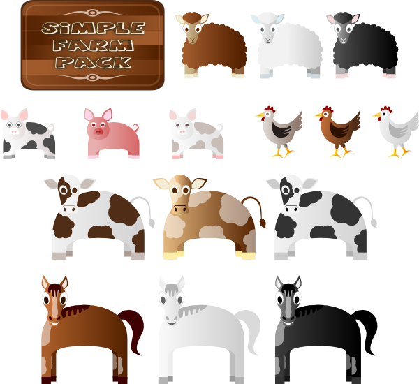 Pet clipart farm dog. Animals clip art at