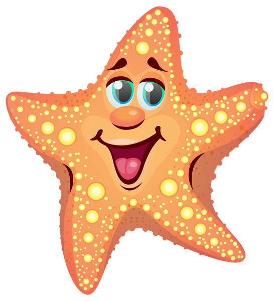 Farmhouse clipart animated. Cartoon starfish png image