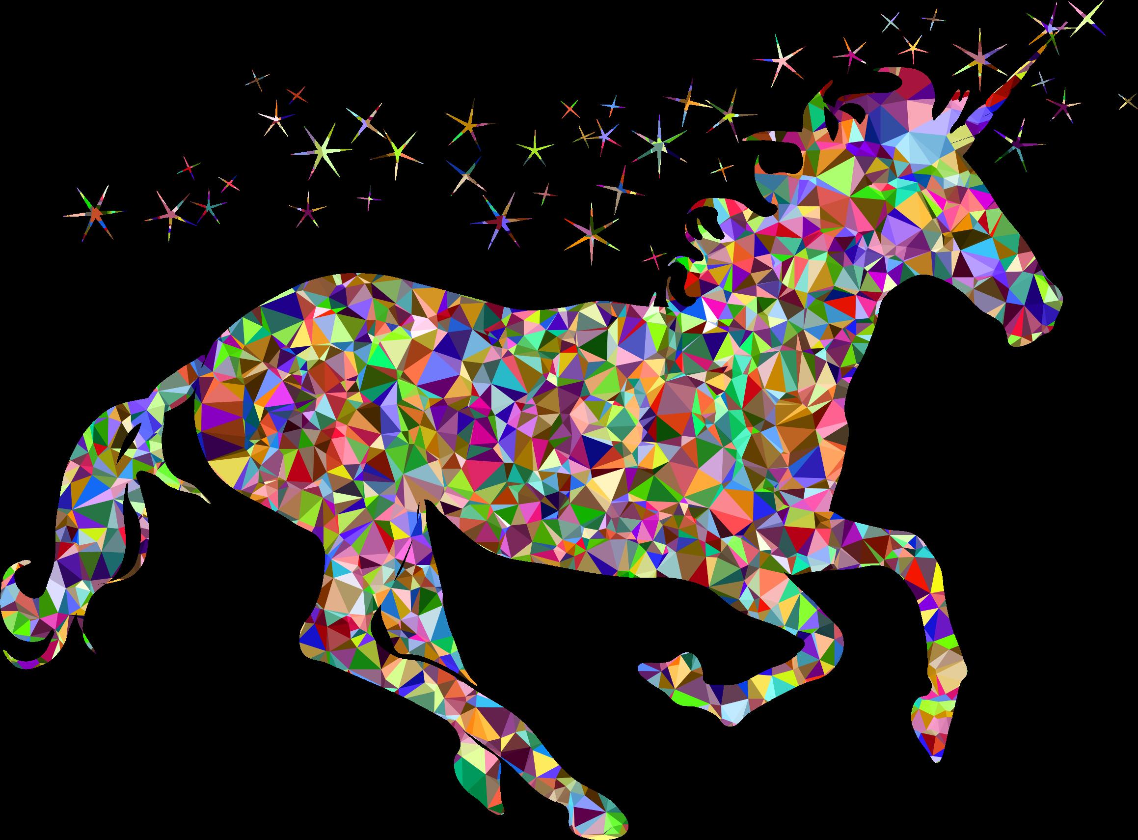 Big clipart unicorn. Chromatic gem magical image