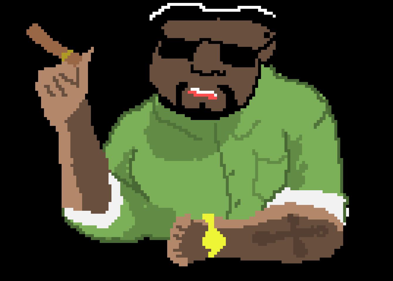 Big smoke png. Pixel art maker