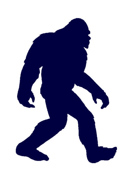 Clip art big foot. Bigfoot clipart