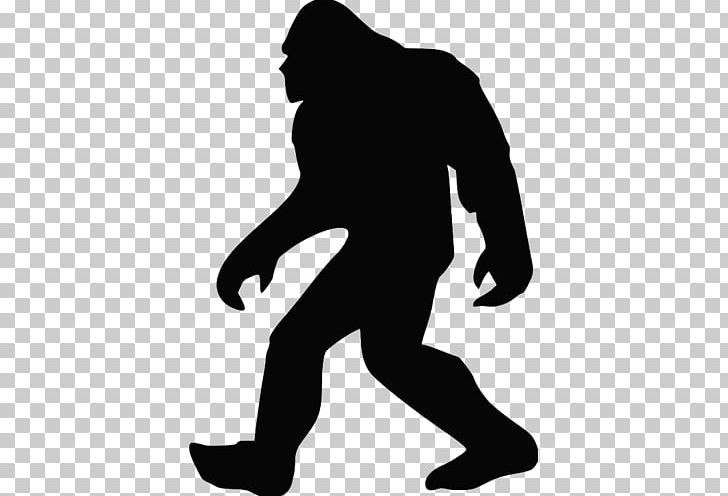 Bigfoot silhouette png animals. Leg clipart big foot