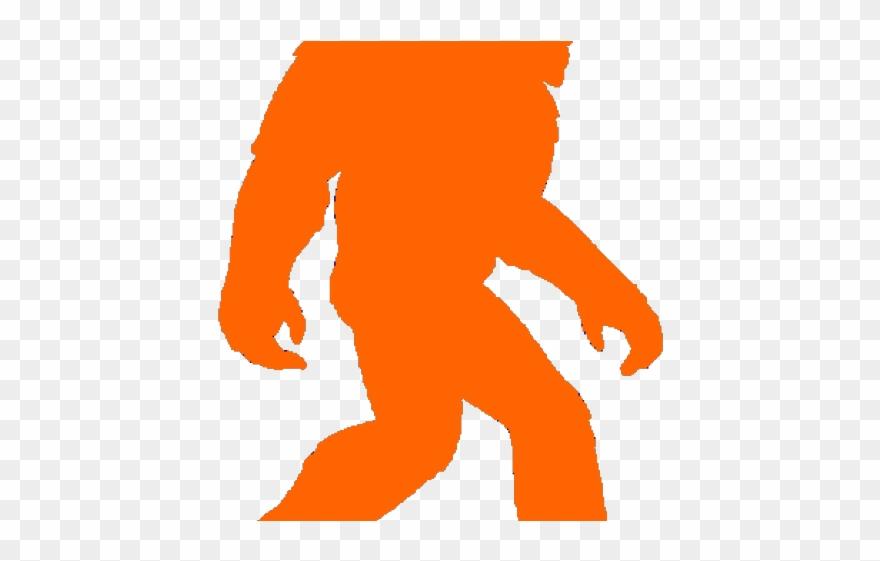 Bigfoot clipart orange. Png download pinclipart