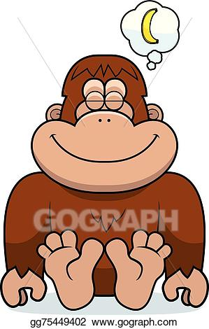 X free clip art. Bigfoot clipart orange