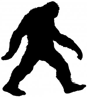 Bigfoot clipart sasquatch. Monster car or truck