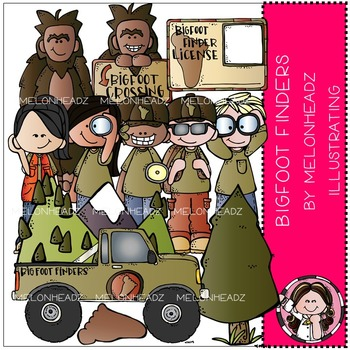 Bigfoot clipart smelly. Teaching resources teachers pay