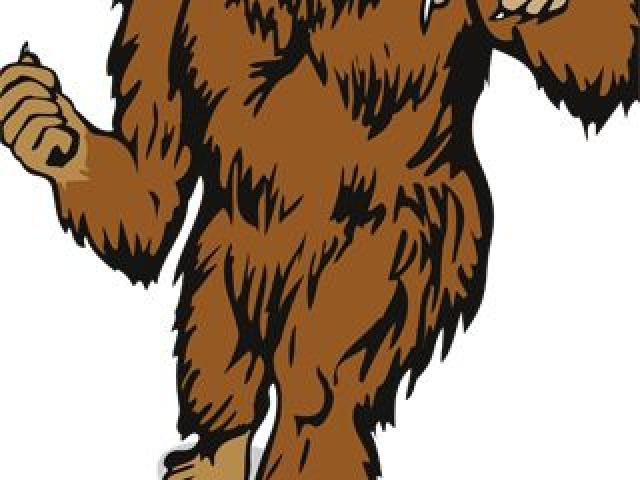 Free download clip art. Bigfoot clipart smelly